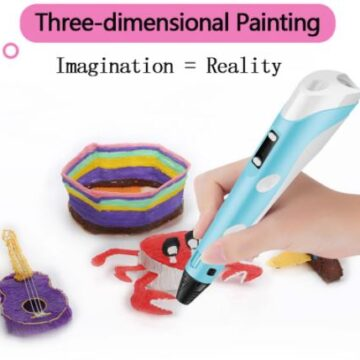 Ручка 3d печать для детей