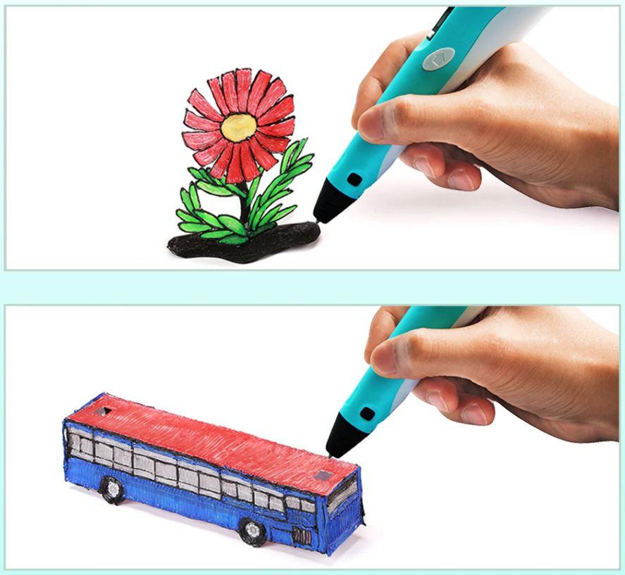 Ручка 3d для рисования игрушек