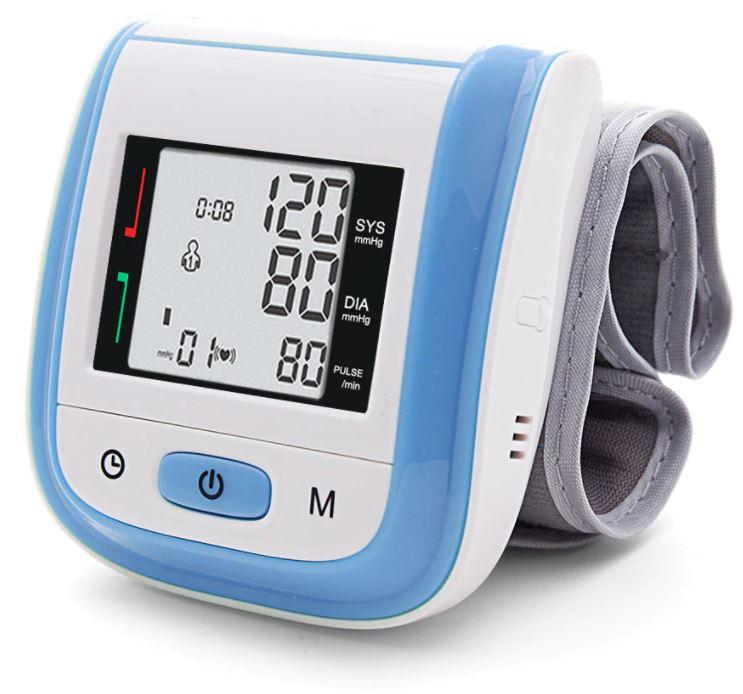 Тонометр на запястье руки, медицинский цифровой прибор для измерения артериального давления, пульса. Купить тонометр