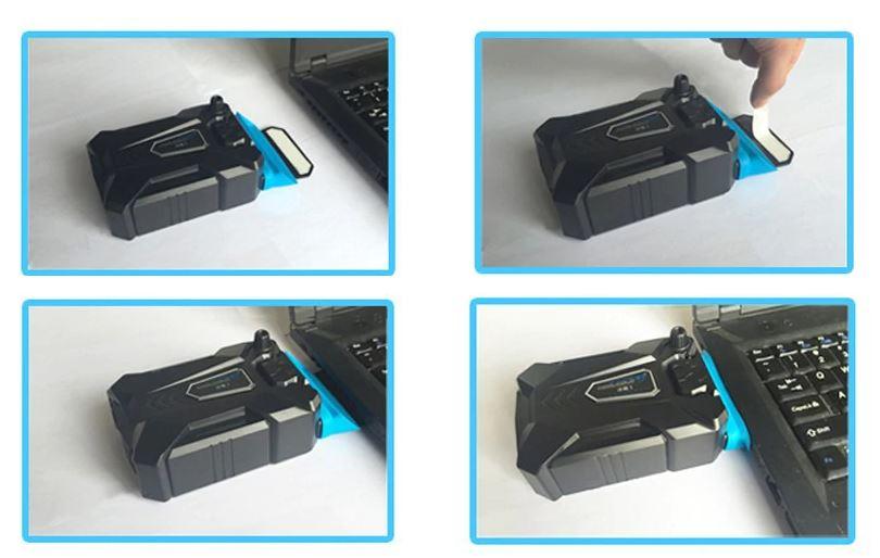 Портативный охлаждающий вентилятор USB для ноутбука