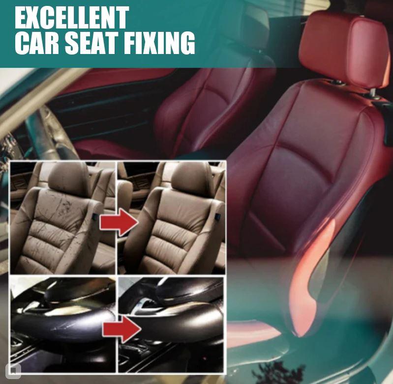 Кожаное сиденье ремонт