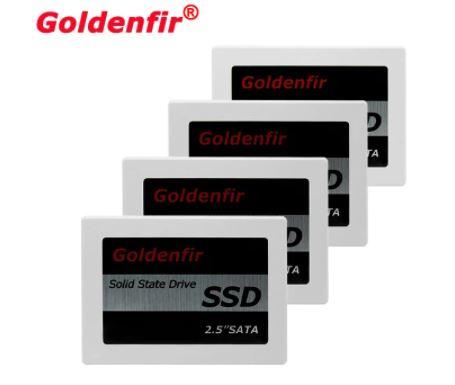 SSD диск для ноутбука, компьютера (ПК). Goldenfir SATA 2,5