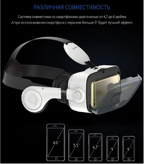 VR очки и гарнитура BOBOVR Z4 3D для айфона