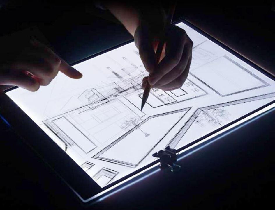 LED рисовальная доска (трафарет) для копирования рисунков, чертежей цена