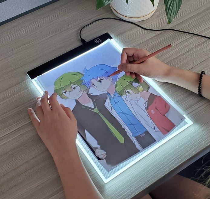 LED рисовальная доска (трафарет) для копирования рисунков, чертежей купить
