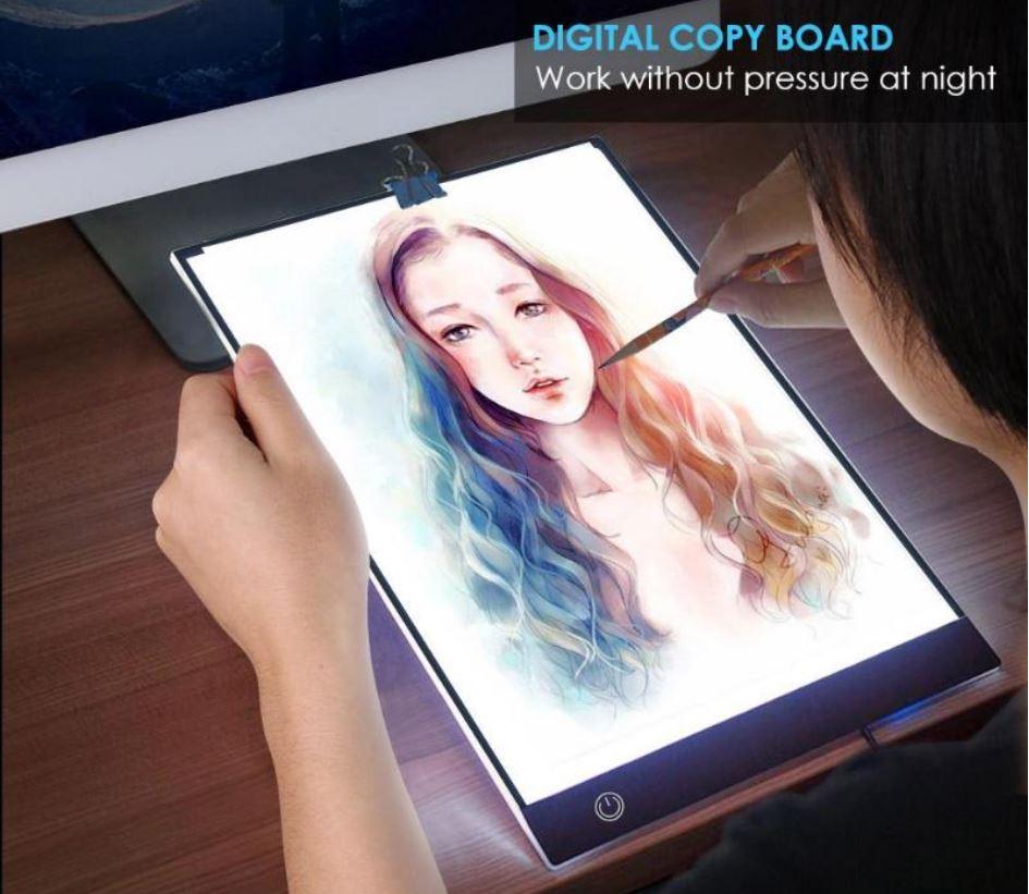 LED рисовальная доска (трафарет) для копирования рисунков, чертежей