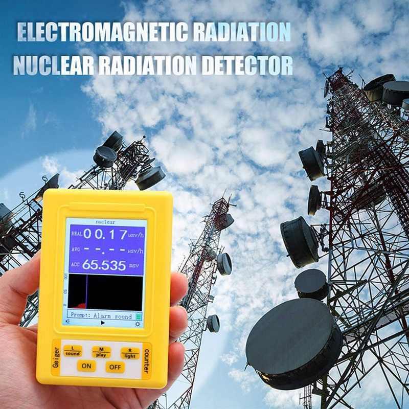 Прибор для измерения накопленной радиации и электромагнитного облучения BR-9C купить