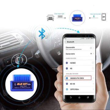 Автомобильный сканер ELM327 OBD2 V1.5 PIC18F25K80 Bluetooth диагностический сканер