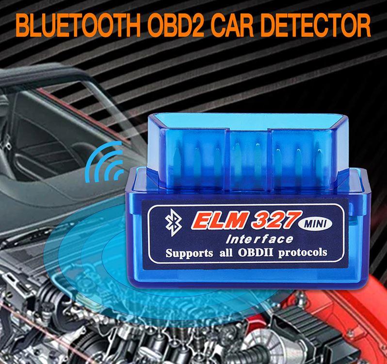 Автомобильный сканер ELM327 OBD2 Bluetooth купить