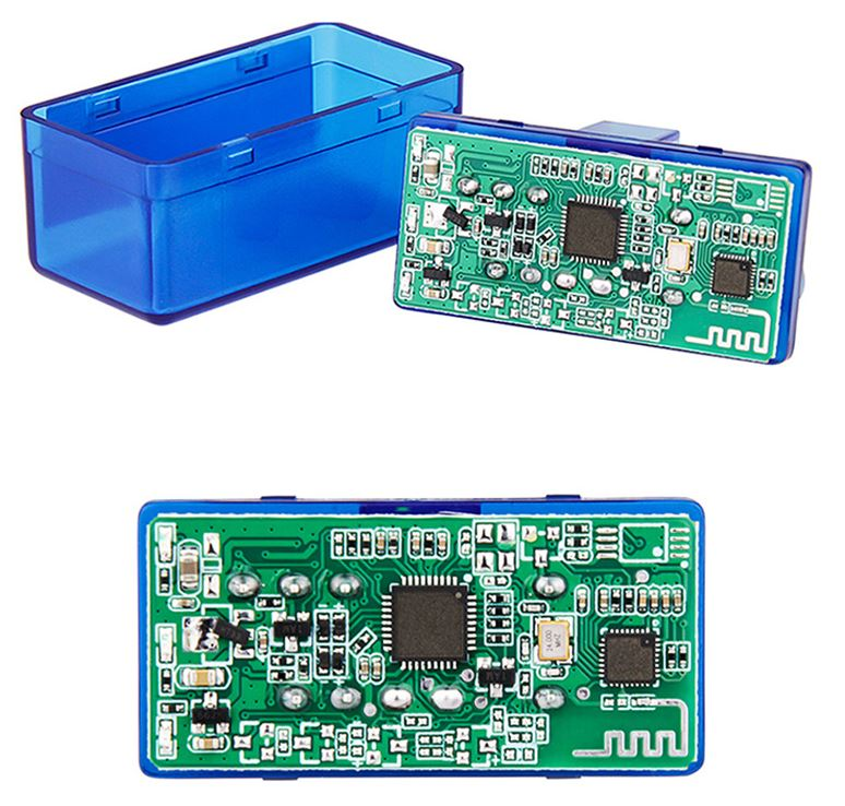 Автомобильный сканер ELM327 OBD2 V1.5 PIC18F25K80 блютуз купить дешево