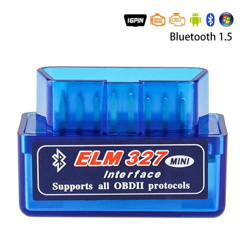 Автомобильный сканер ELM327 OBD2 V1.5 PIC18F25K80 Bluetooth  диагностический инструмент
