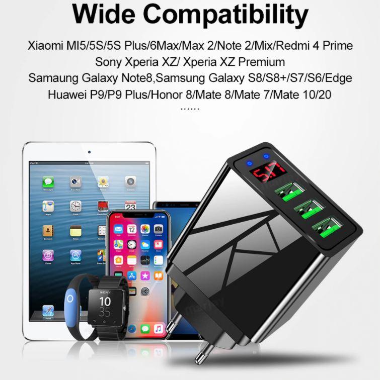 универсальное зарядное для телефона планшета быстрая зарядка купить дешево