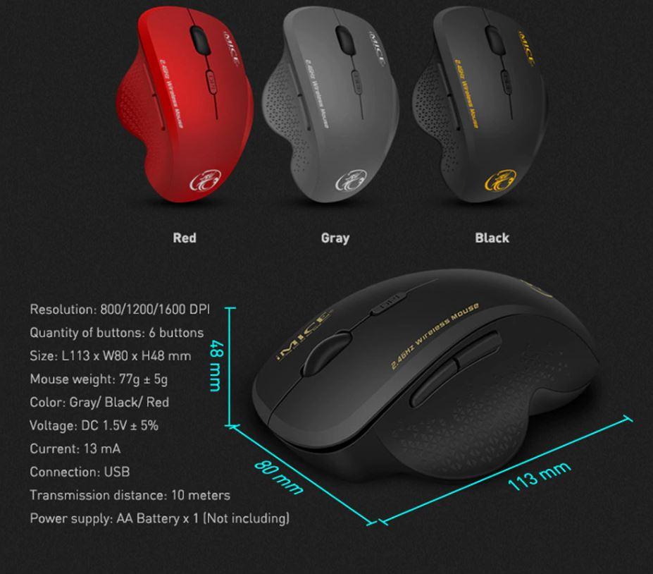 Мышь компьютерная геймерская беспроводная купить