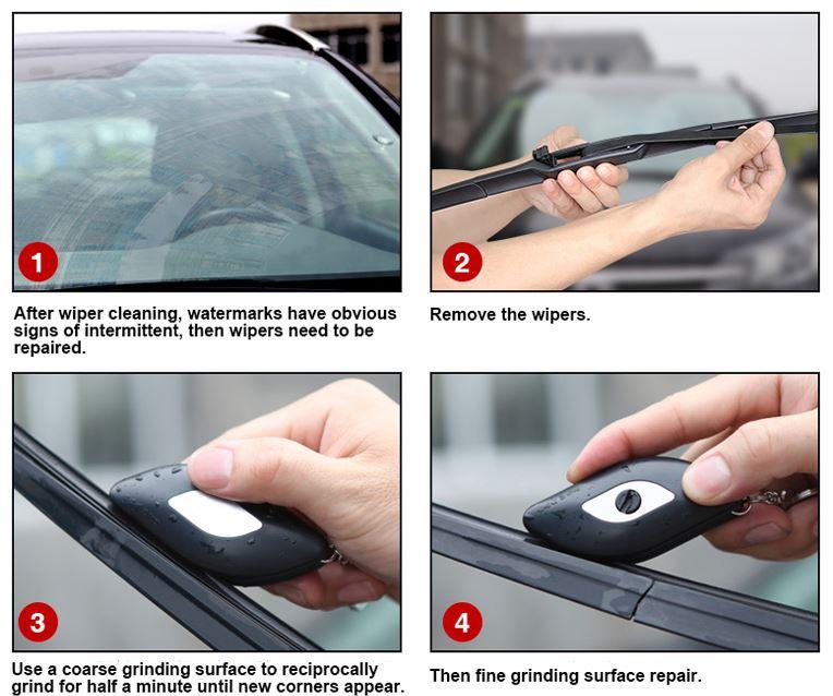Как восстановить / отремонтировать автомобильные щетки совет