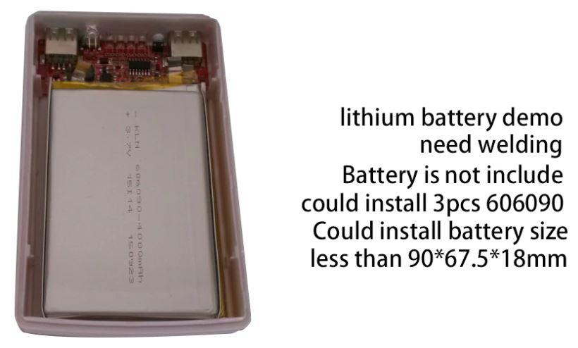 Повербанк usb без аккумулятора дешево