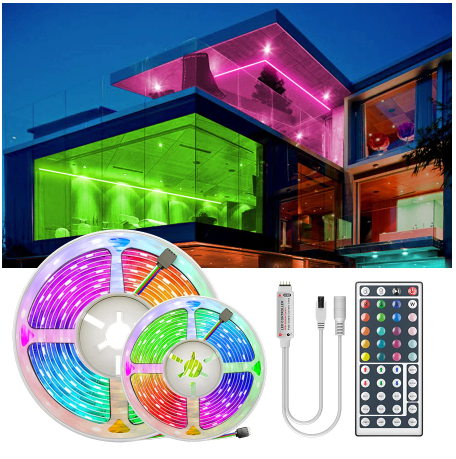 Светодиодная лента RGB (подсветка ) с алиэкспресс купить