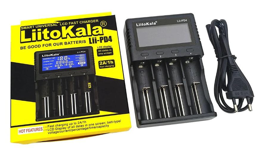 купить зарядное устройство для батареек