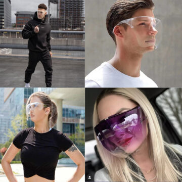 защитные очки для лица купить
