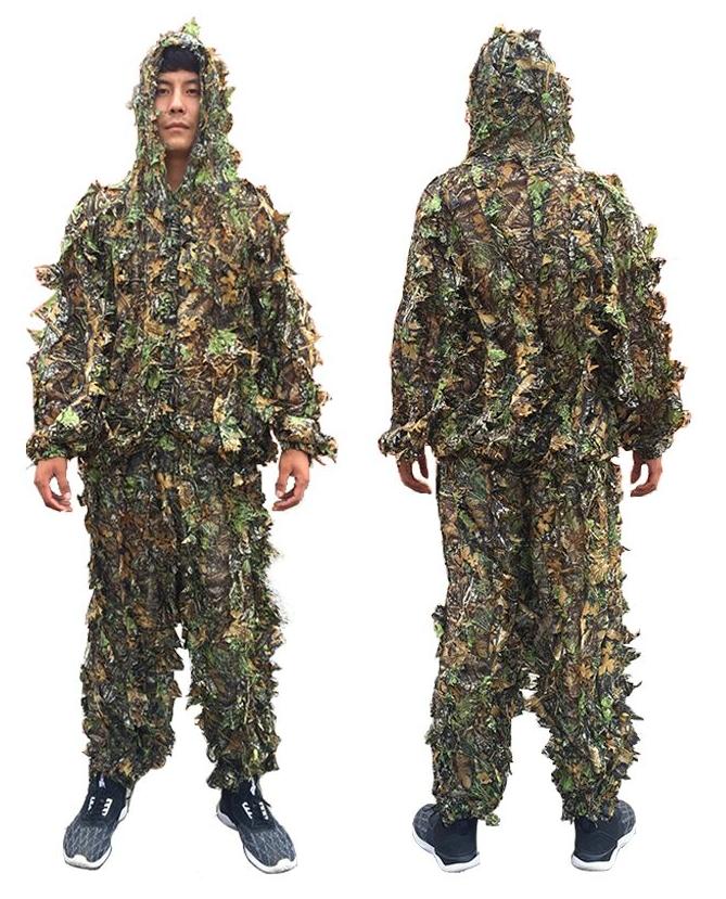 Маскировочный костюм для охотника и снайпера