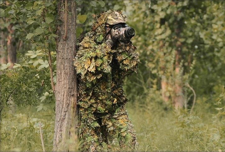 Одежда для маскировки в лесу