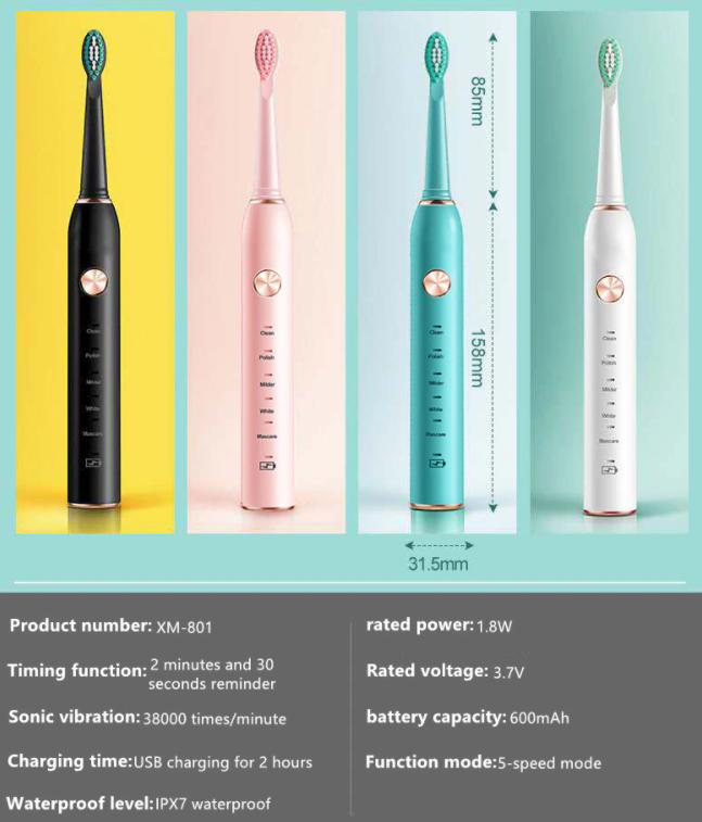 Зубная щетка аккумуляторная ультразвуковая купить магазин